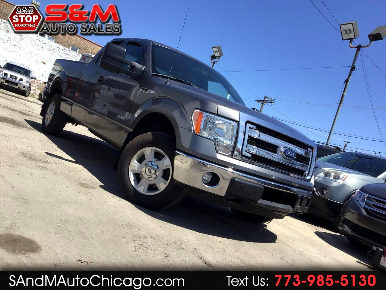 "2014 Ford F-150 4WD SuperCab 145"" Lariat"