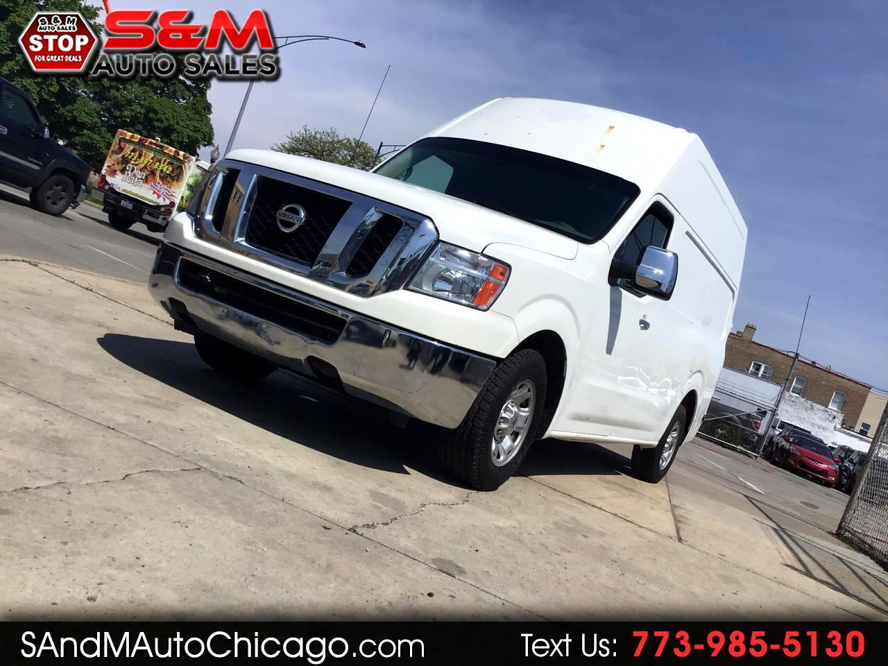 2012 Nissan NV High Roof 2500 V8 SV