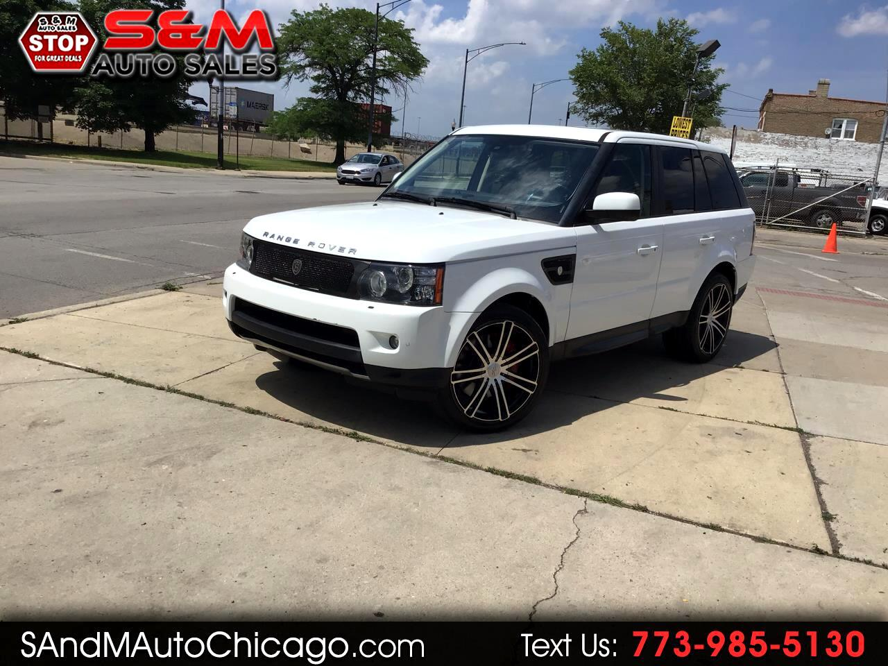 Land Rover Range Rover Sport 4WD 4dr SC 2013