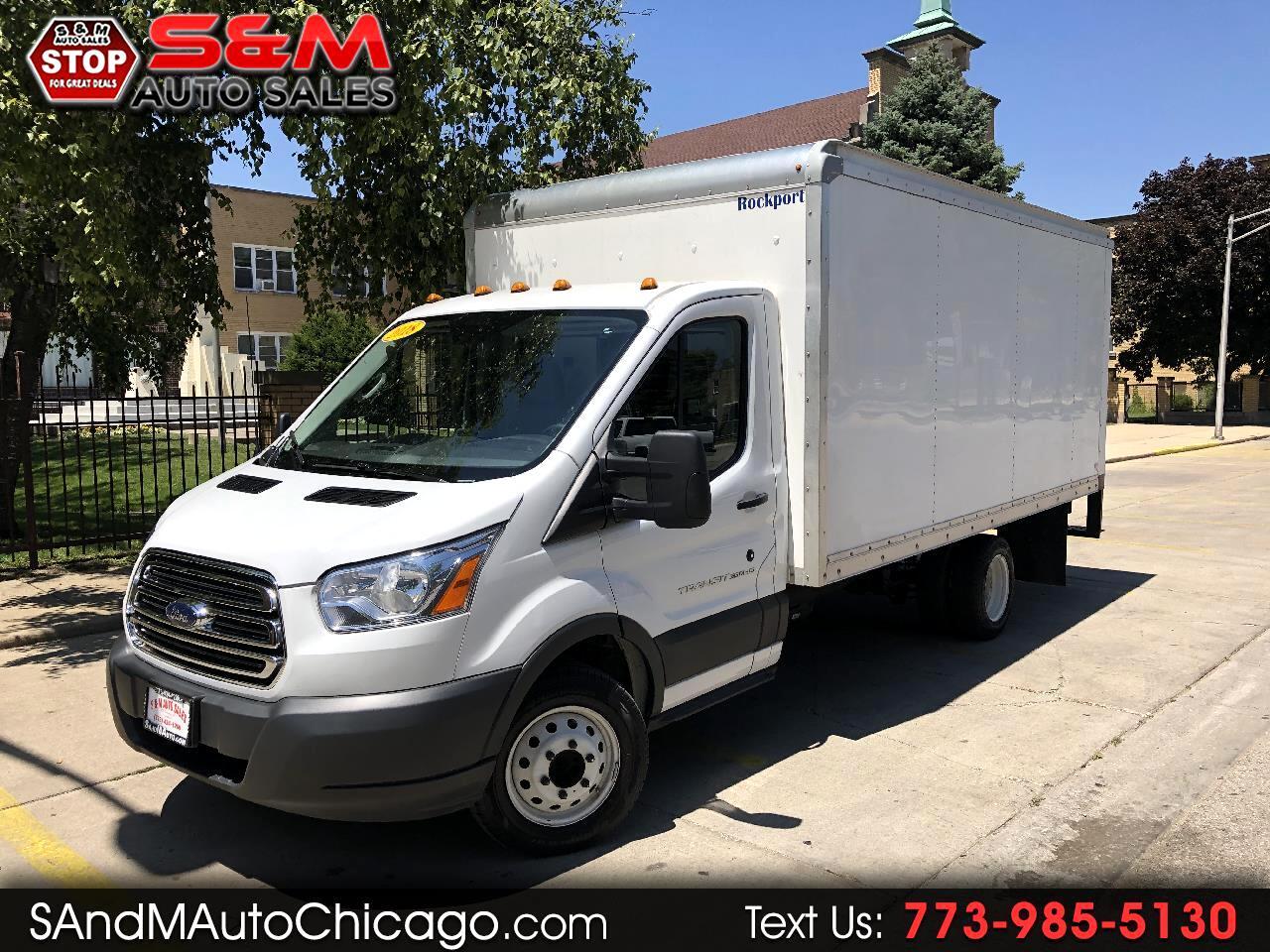 "2018 Ford Transit Cutaway T-350 DRW 156"" WB 9950 GVWR"
