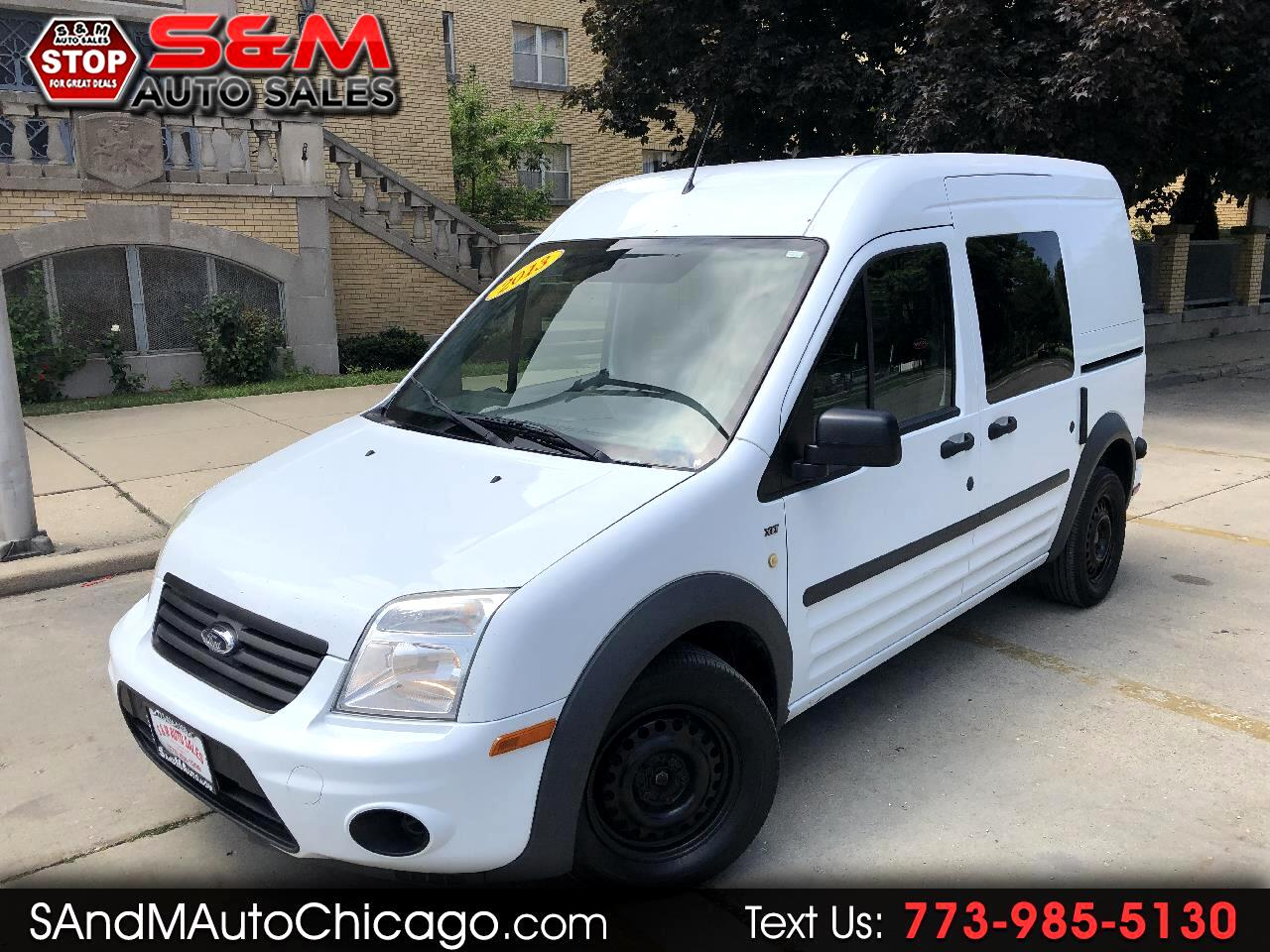 "2013 Ford Transit Connect 114.6"" XLT w/side & rear door privacy glass"