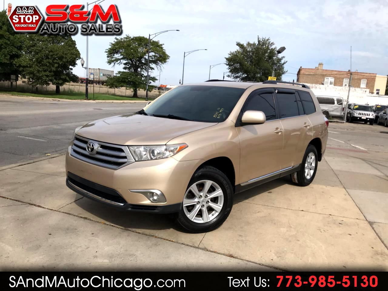 Toyota Highlander FWD 4dr L4  Base (Natl) 2011