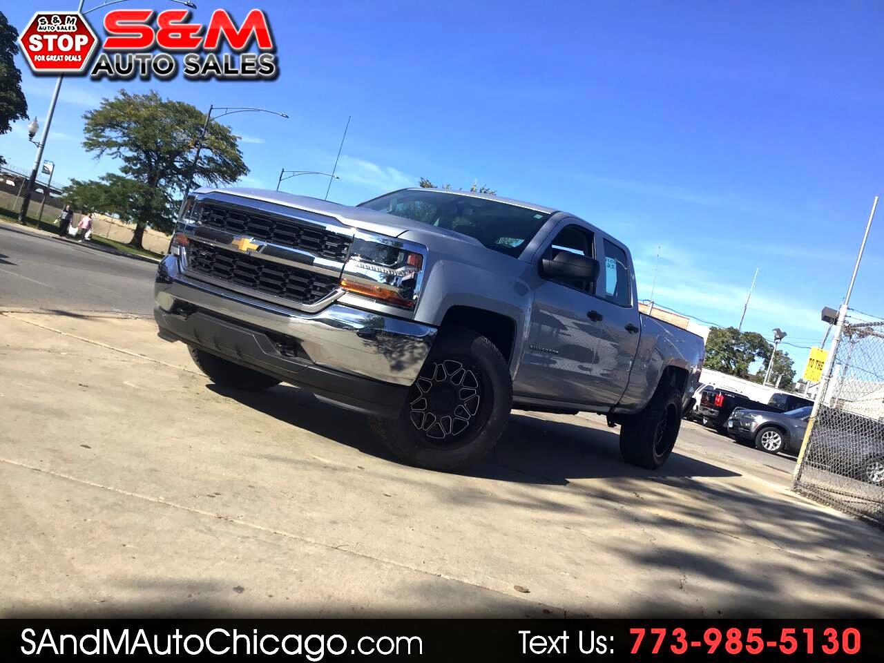 "2016 Chevrolet Silverado 1500 4WD Double Cab 143.5"" Work Truck"