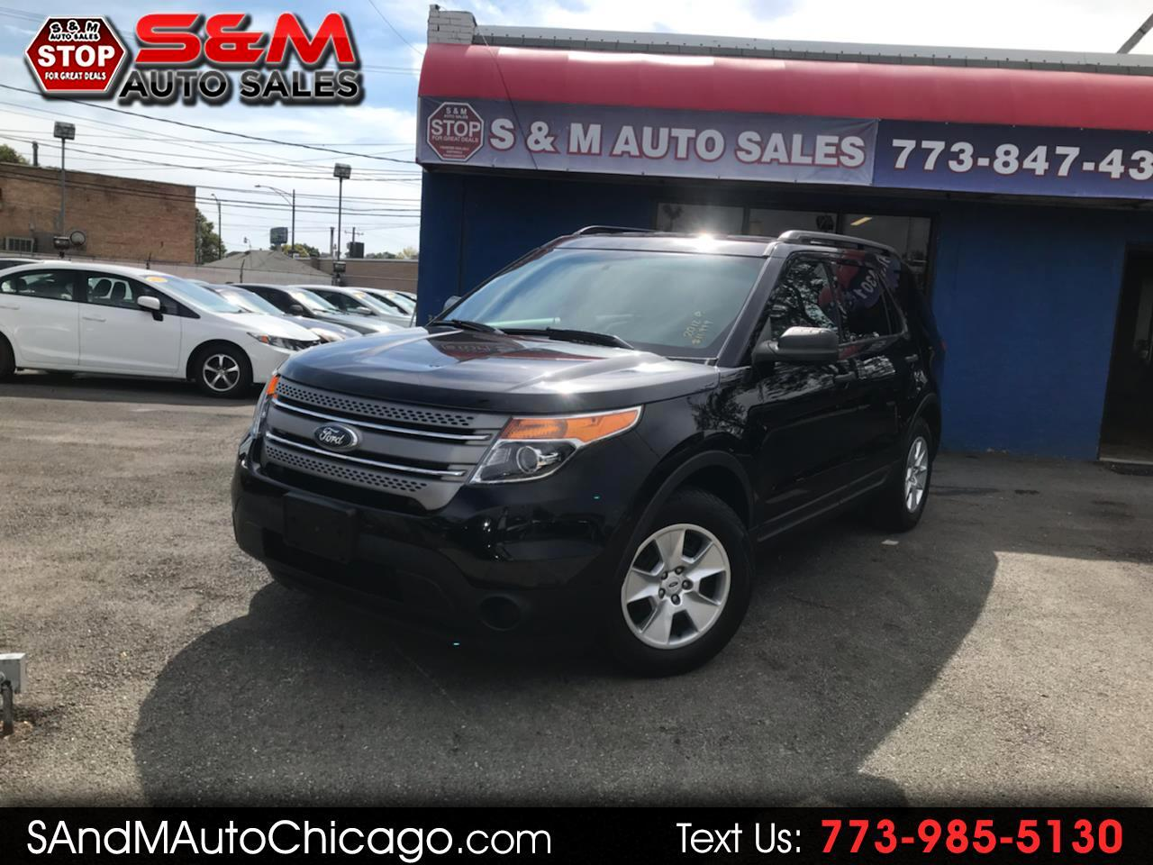 2012 Ford Explorer FWD 4dr Base