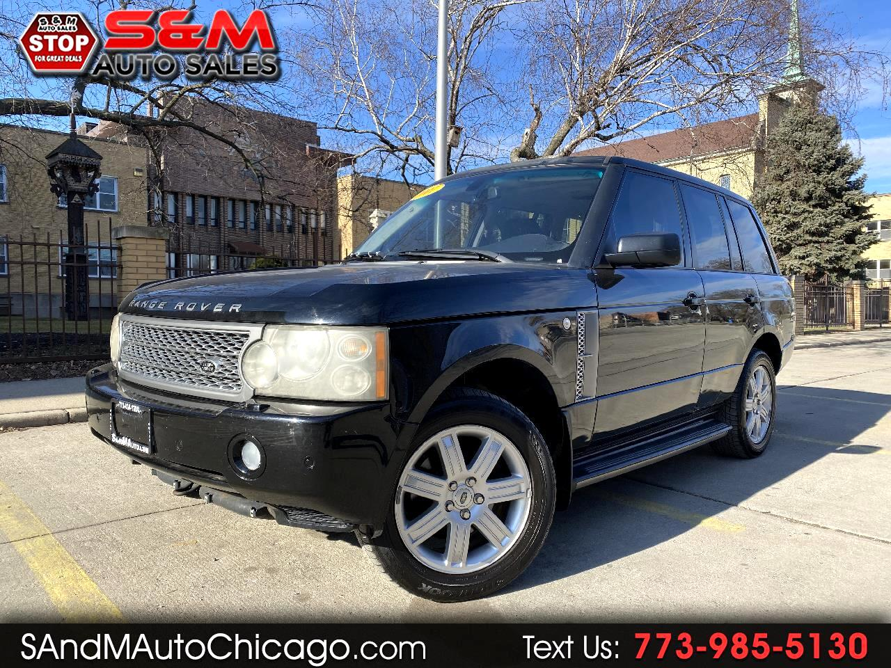 Land Rover Range Rover 4WD 4dr HSE 2007