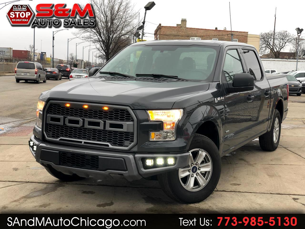 Ford F-150 Platinum 2WD SuperCrew 6.5' Box 2017