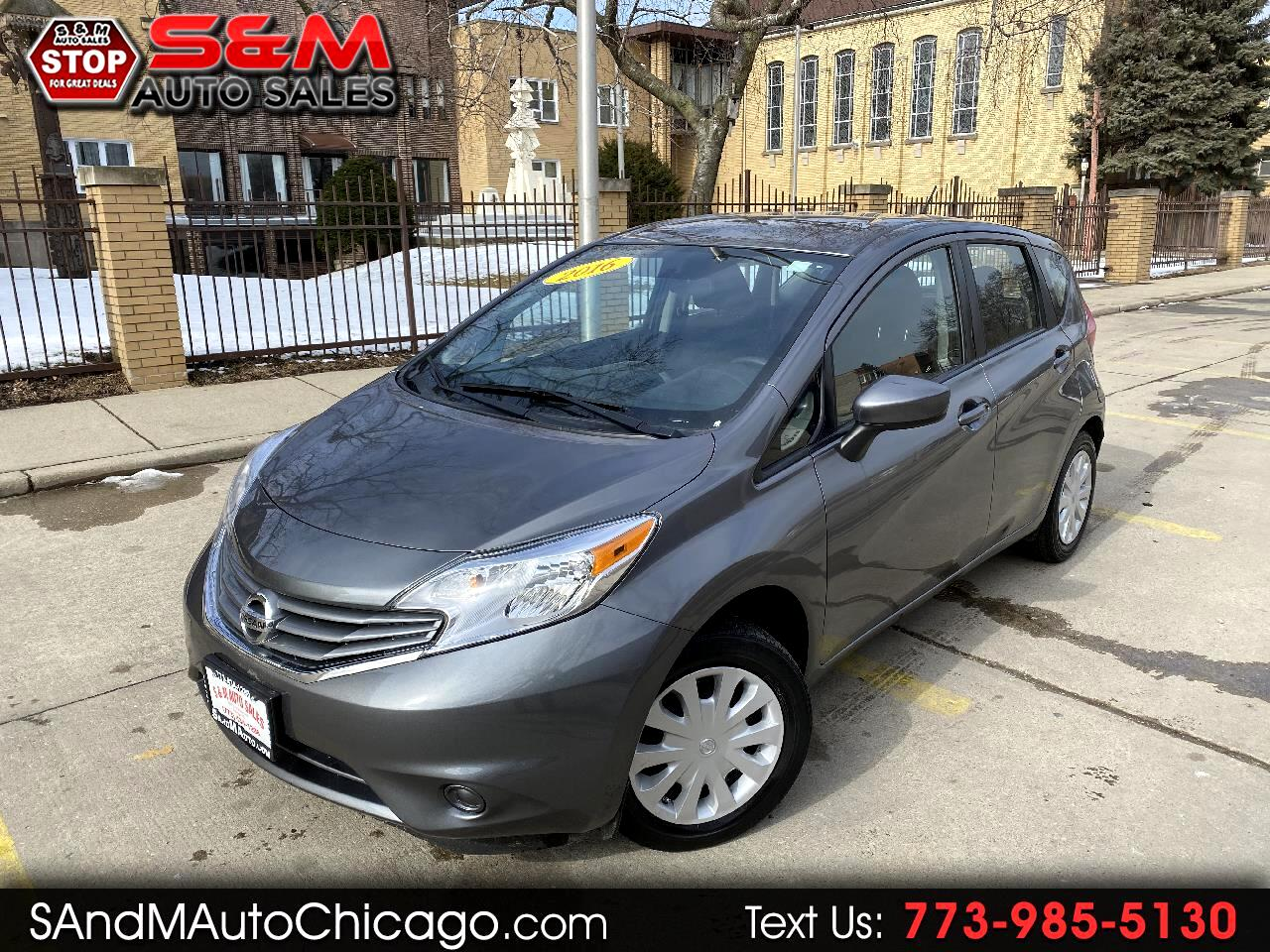 Nissan Versa Note 5dr HB Manual 1.6 S 2016