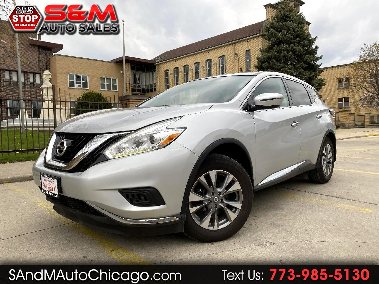 Nissan Murano AWD 4dr S 2016