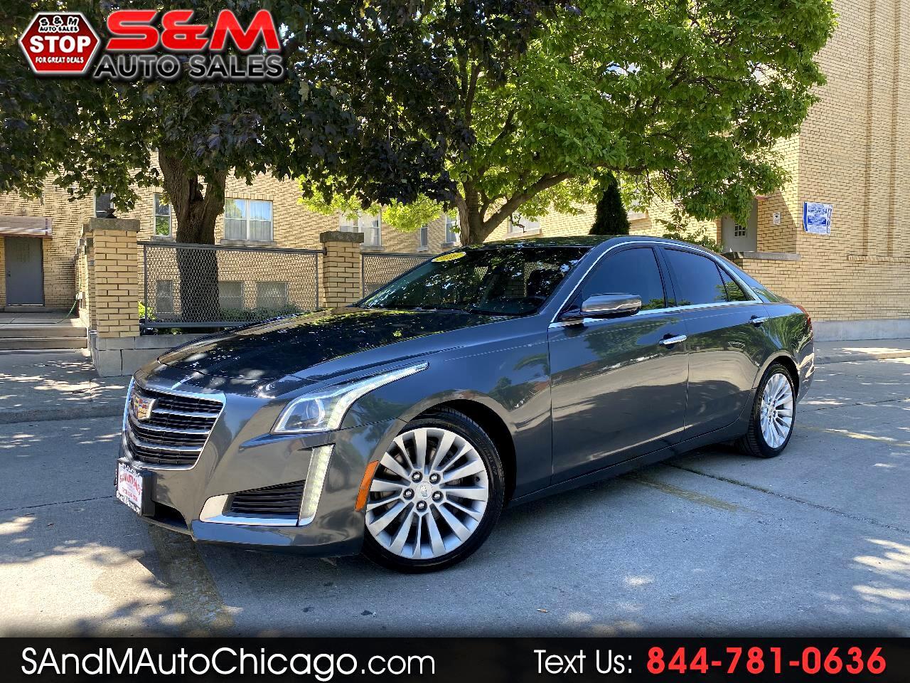 Cadillac CTS Sedan 4dr Sdn 3.6L Luxury Collection RWD 2016