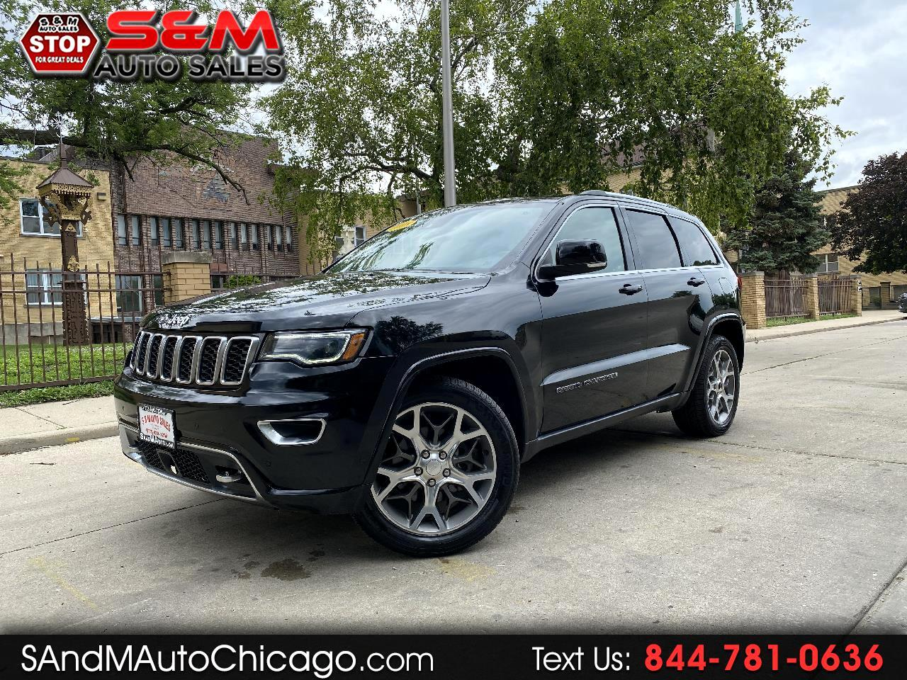 Jeep Grand Cherokee Sterling Edition 4x2 *Ltd Avail* 2018