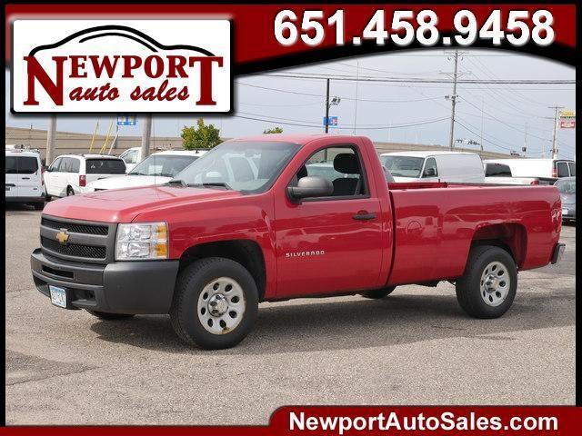 """2013 Chevrolet Silverado 1500 2WD Reg Cab 133.0"""" Work Truck"""