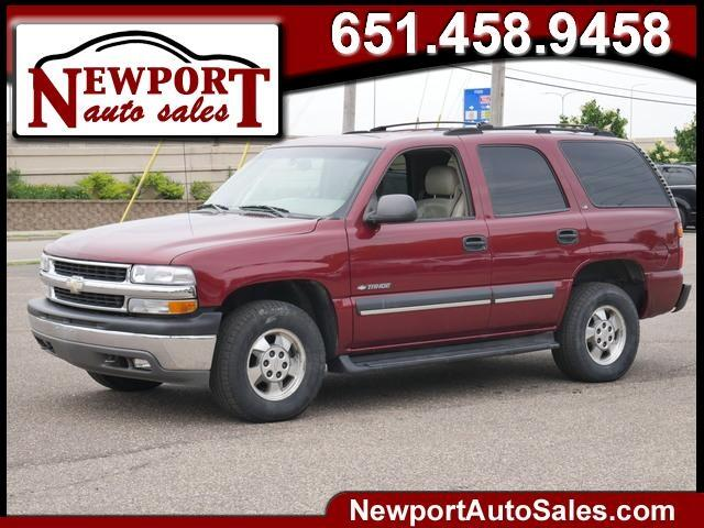 Chevrolet Tahoe 4dr 1500 4WD Commercial 2002