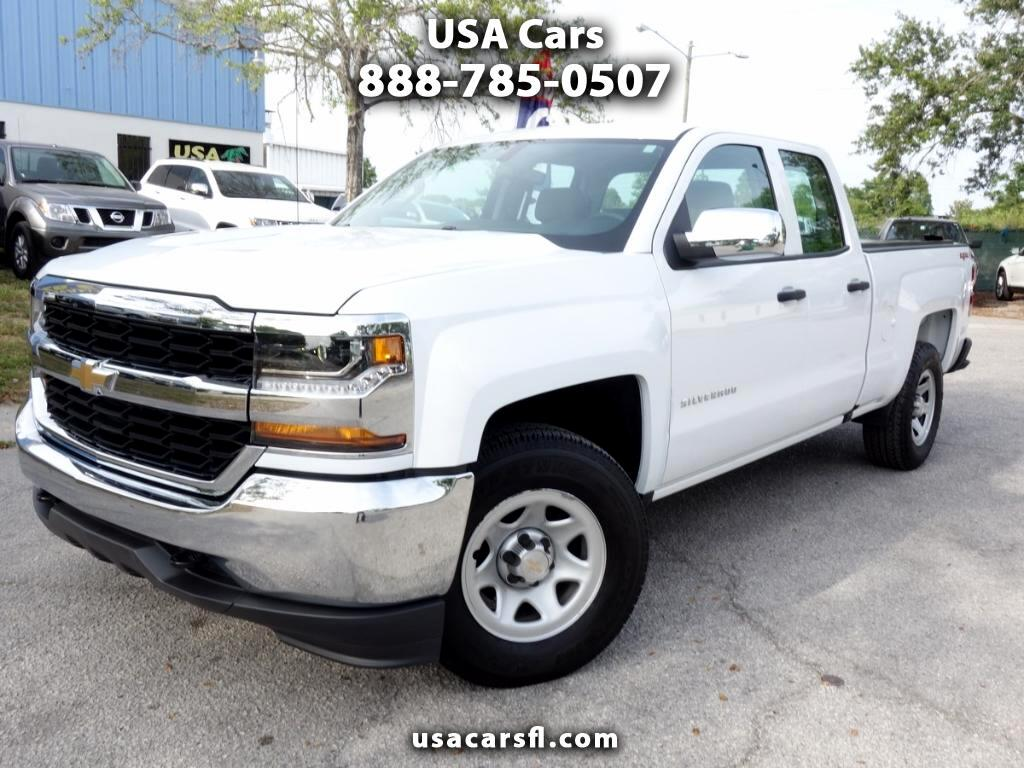 2018 Chevrolet Silverado 1500 Double Cab 4WD 6.6 FT Bed