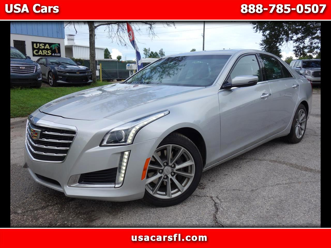 2019 Cadillac CTS Sedan 4dr Sdn 2.0L Turbo Luxury RWD