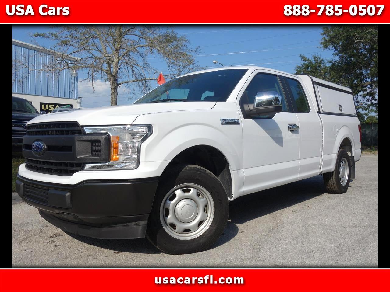 2018 Ford F-150 XLT 2WD SuperCab 6.5' Box