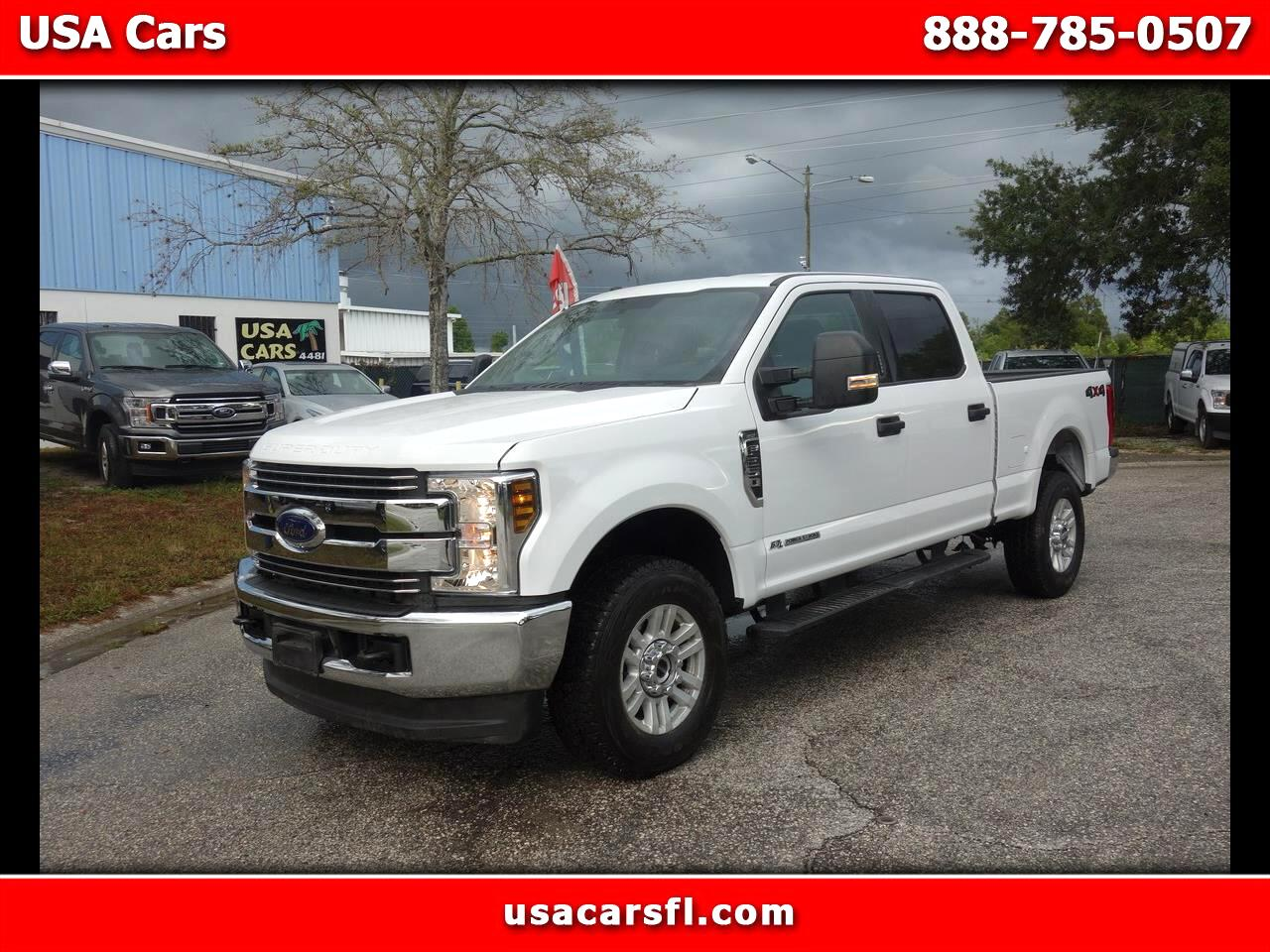 2019 Ford Super Duty F-250 SRW XLT 4WD Crew Cab 6.75' Box