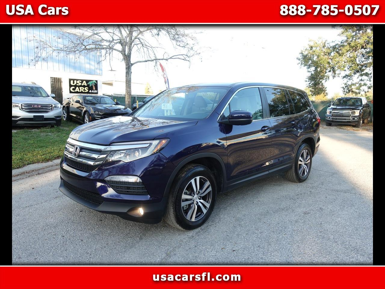 Honda Usa Cars >> Used 2018 Honda Pilot Ex L W Res Awd For Sale In Clearwater