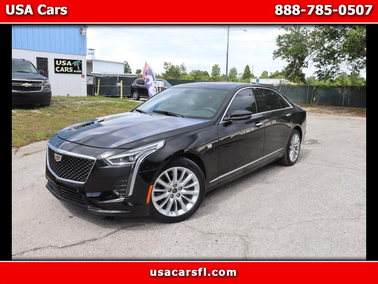 Cadillac CT6 4dr Sdn 3.6L Luxury 2020