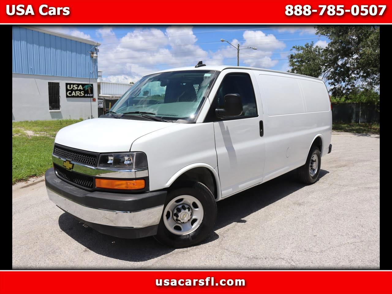 """Chevrolet Express Cargo Van RWD 2500 135"""" 2020"""