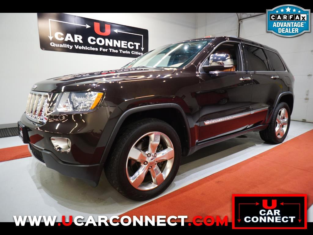 2012 Jeep Grand Cherokee 4WD 4dr Overland Summit