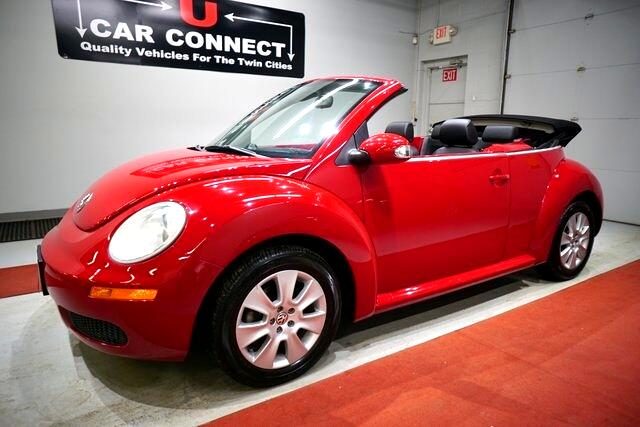2009 Volkswagen New Beetle Convertible 2dr Auto S PZEV