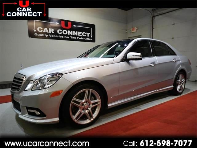 2011 Mercedes-Benz E-Class 4dr Sdn E 550 Luxury 4MATIC