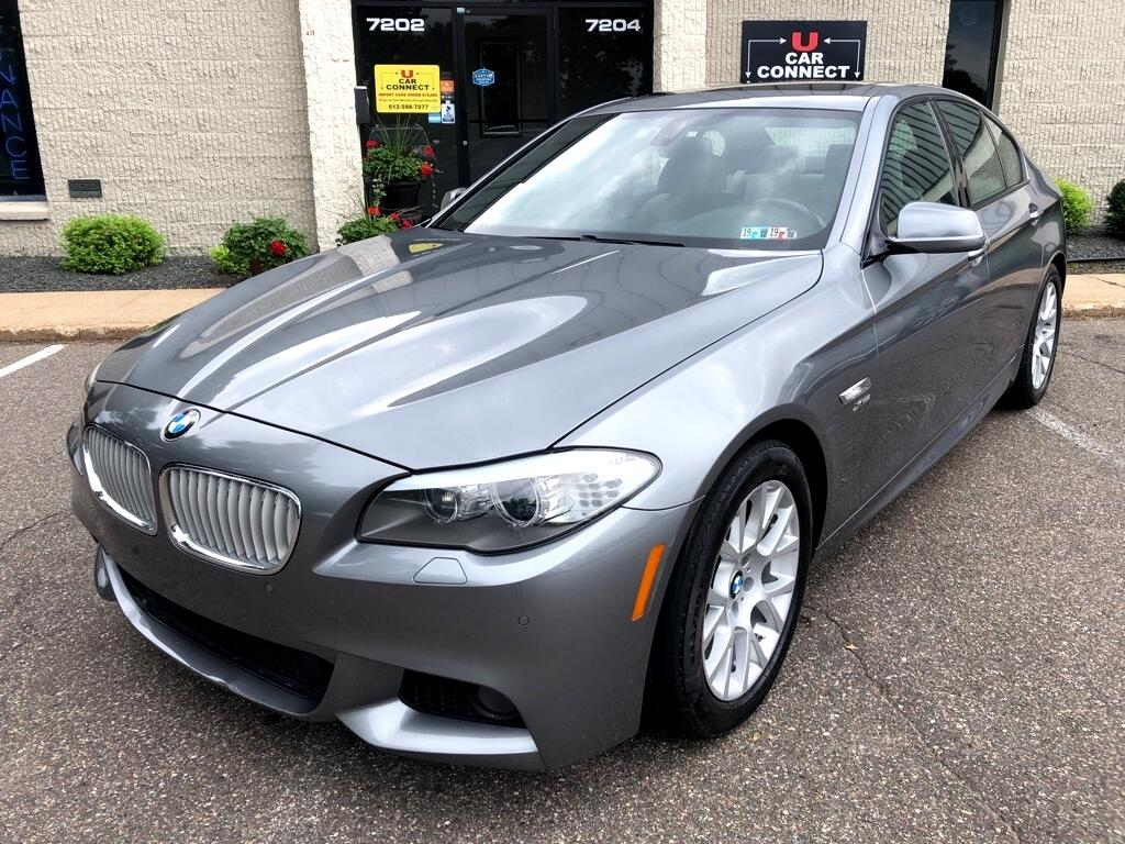 2012 BMW 5 Series 4dr Sdn 550i xDrive AWD