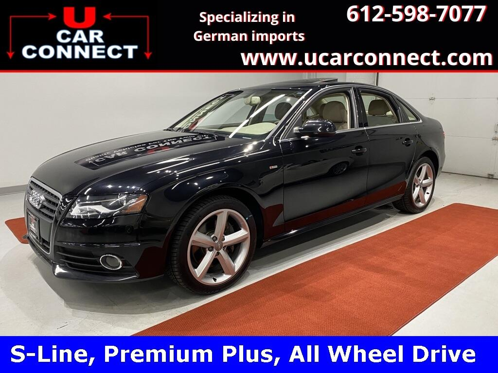 Audi A4 4dr Sdn Auto quattro 2.0T Premium Plus 2012