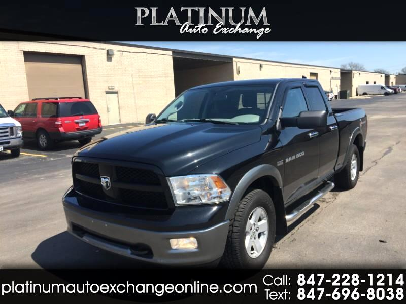 2011 Dodge Ram 1500 SLT Quad Cab Outdoorsman 4WD
