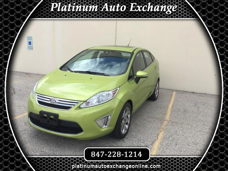 Ford Fiesta Titanium Sedan 2013