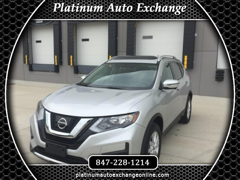 used 2017 nissan rogue 2017 5 awd sv with sun sound touring package for sale in mount prospect il 60056 platinum auto exchange platinum auto exchange