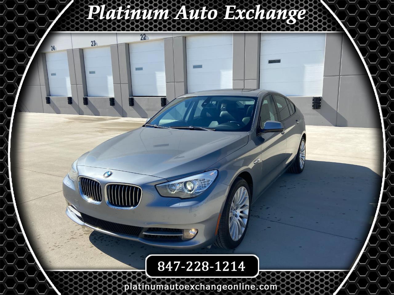 BMW 5 Series Gran Turismo  2012