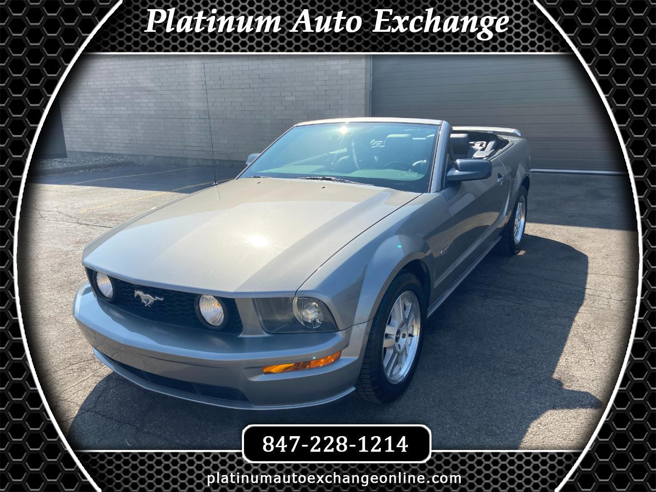 Ford Mustang 2dr Convertible GT Premium 2008