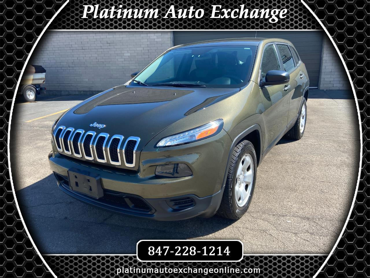 Jeep Cherokee 4WD 4dr Sport 2016