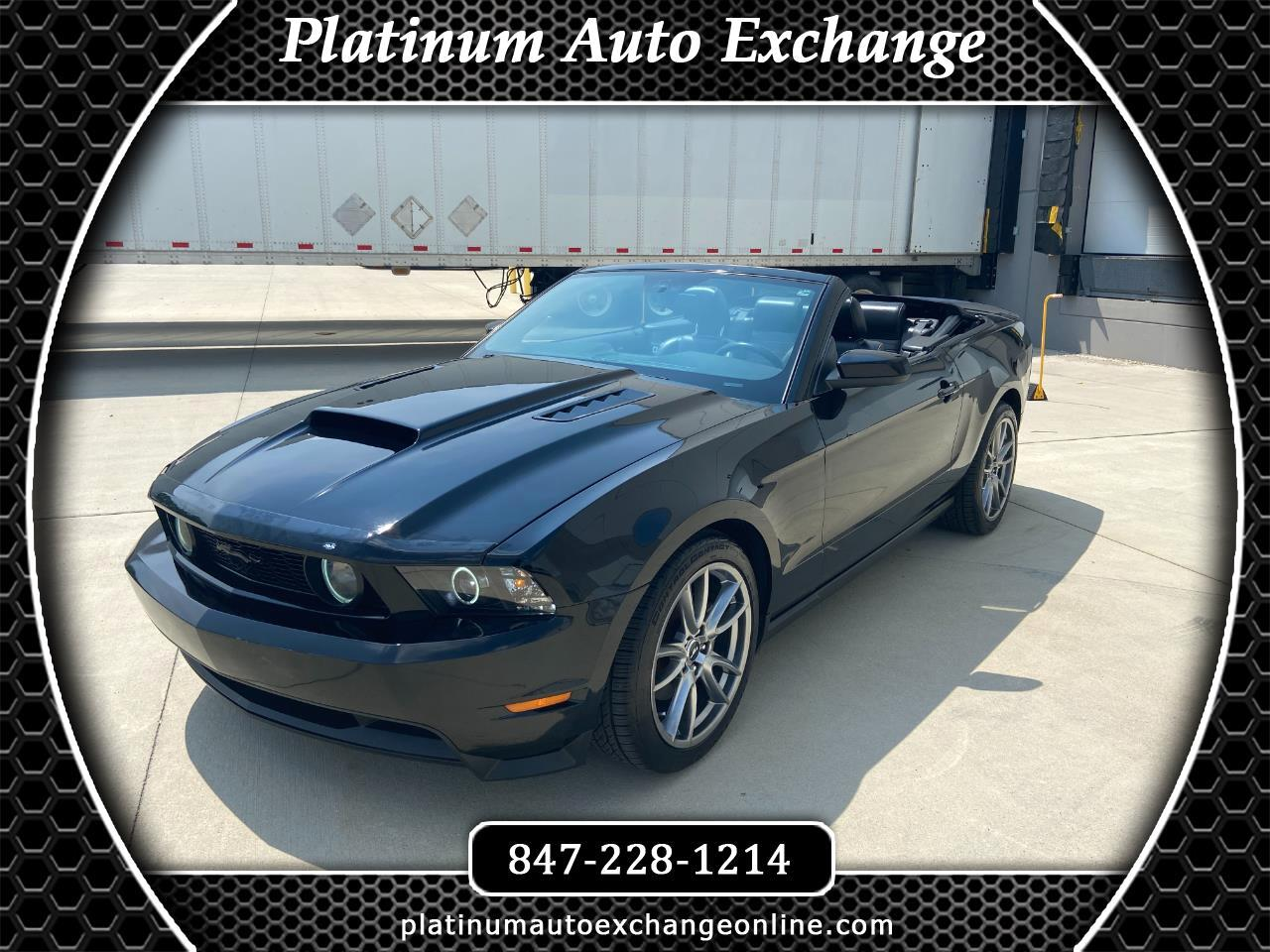 Ford Mustang 2dr Convertible GT Premium 2010