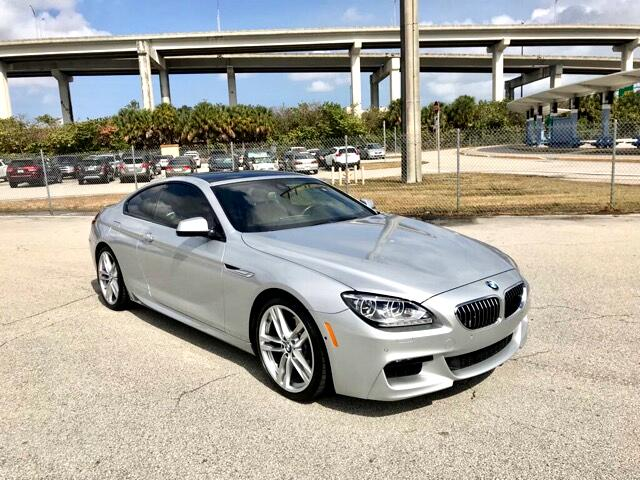 2015 BMW 6-Series 640i Coupe M Sports Package