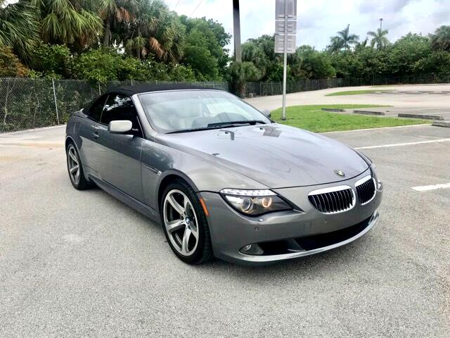 2008 BMW 6-Series 650i Convertible with Sports Package