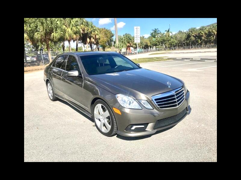 2011 Mercedes-Benz E-Class E350 Sedan Sports Package