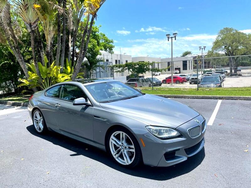 BMW 650i Base 2012