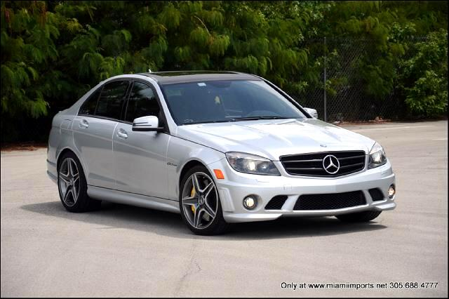 2010 Mercedes-Benz C-Class C63 AMG Sport Sedan