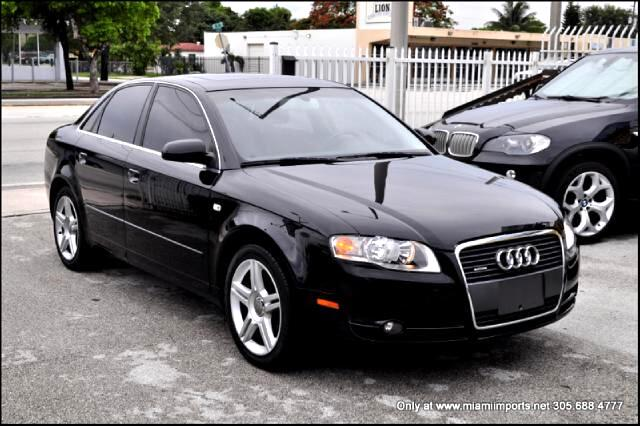 Audi A4 2.0 T quattro with Tiptronic 2006