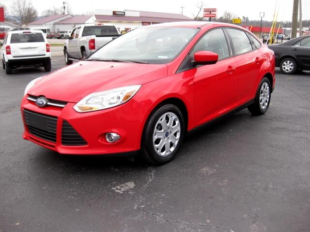 2012 Ford Focus SE Sedan