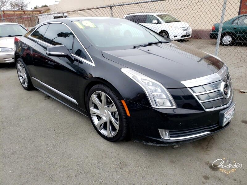 Cadillac ELR Luxury with Premium Seat & Adaptive Cruise Control 2014