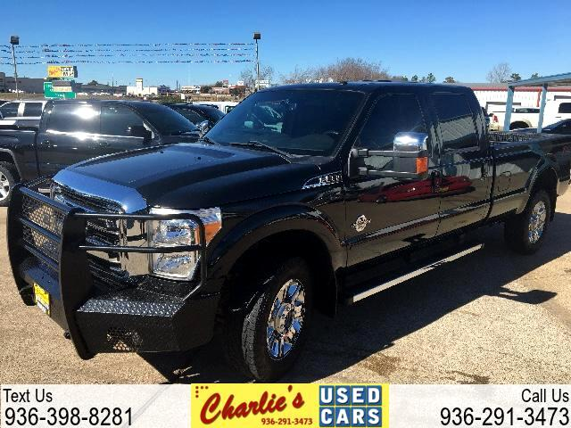 2015 Ford Super Duty F-350 SRW Lariat 4WD Crew Cab 8' Box