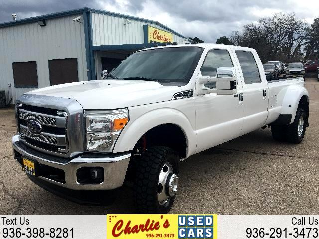 2015 Ford Super Duty F-350 DRW Platinum 4WD Crew Cab 8' Box