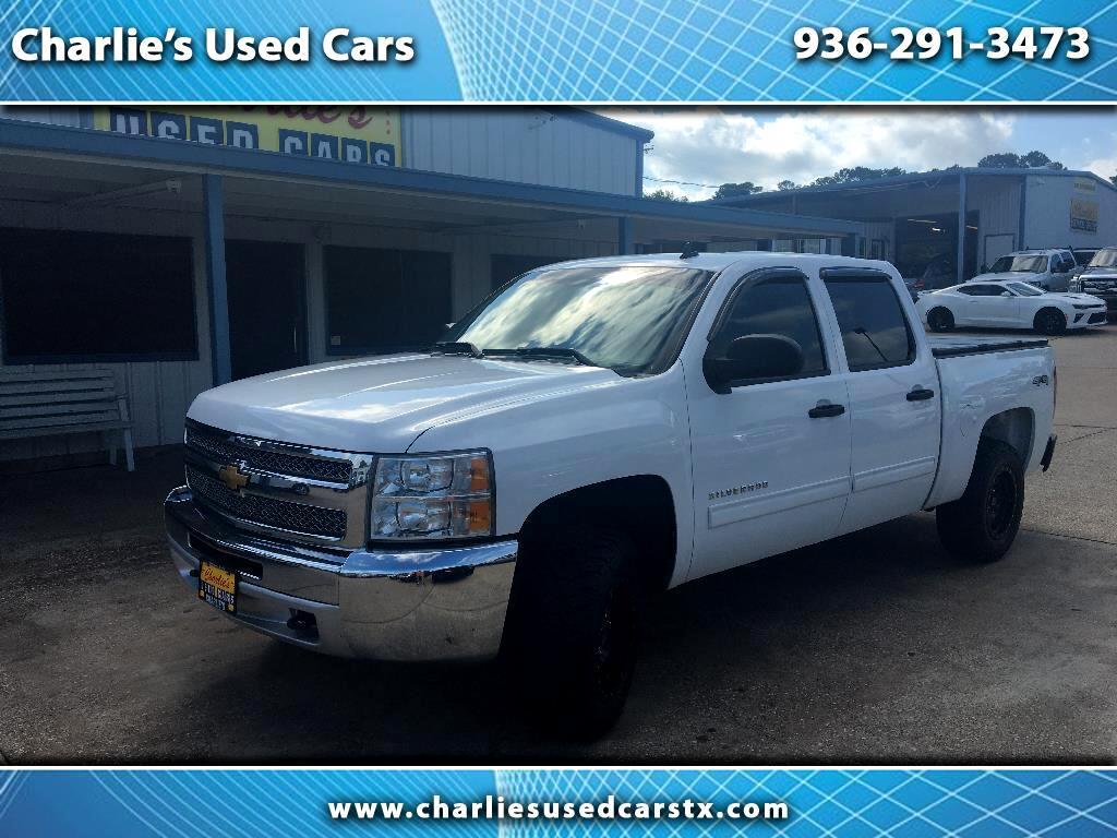2012 Chevrolet Silverado 1500 4WD Crew Cab 143.5
