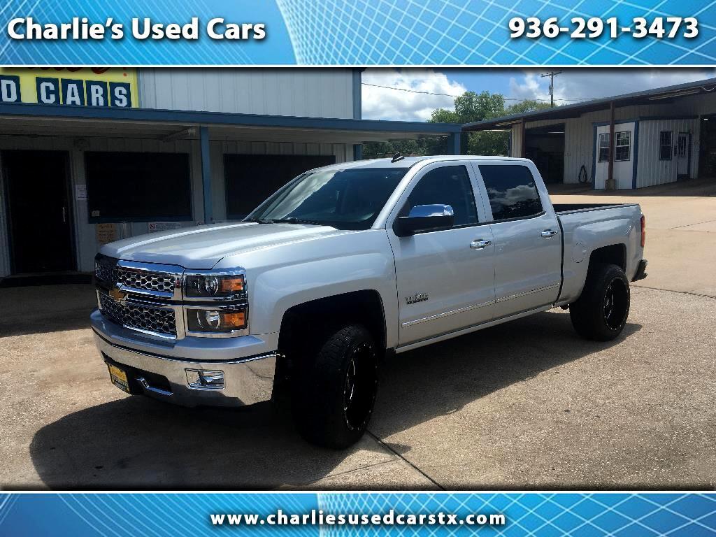 2014 Chevrolet Silverado 1500 2WD Crew Cab 143.5