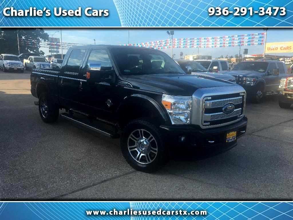 "2015 Ford Super Duty F-250 4WD Crew Cab 172"" Platinum"
