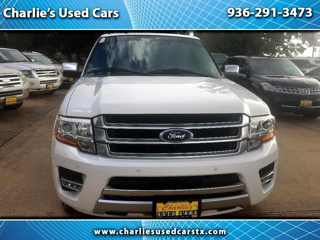 2015 Ford Expedition EL 2WD 4dr Platinum