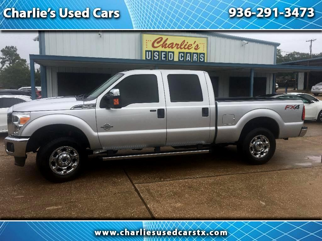 "2015 Ford Super Duty F-250 4WD Crew Cab 172"" XLT"